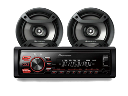 AUTOESTEREO + PARLANTES MXT-286BT