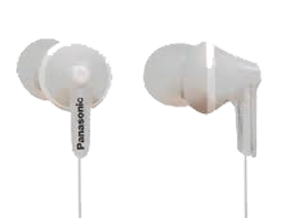 AURICULAR RP-HJE125PPW BLANCO